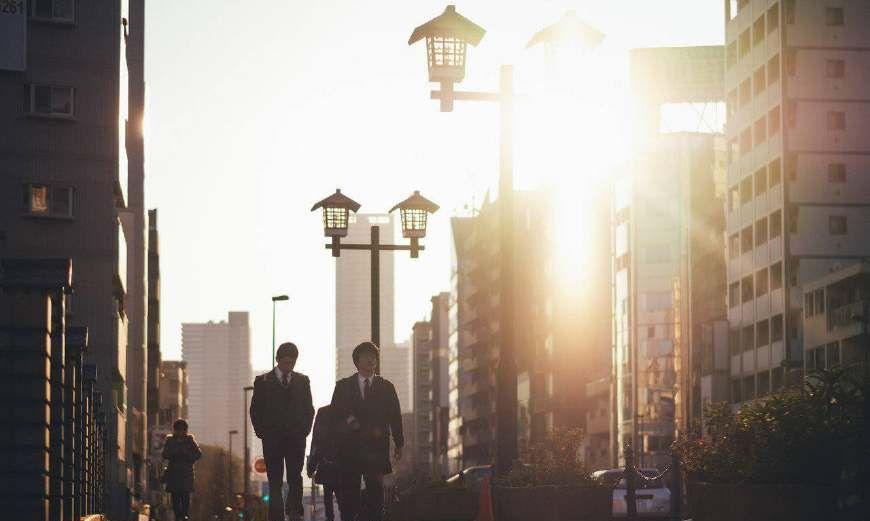 日本东京,街头故事,如果是你走在这里是什么样的感受呢?