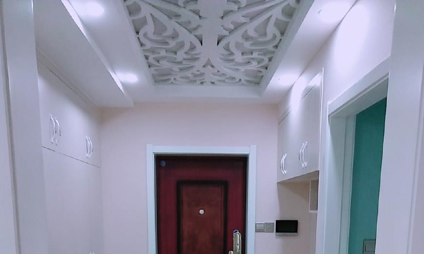 晒晒我新房,玄关过道美观实用,飘窗改做柜子,邻居纷纷回家效仿
