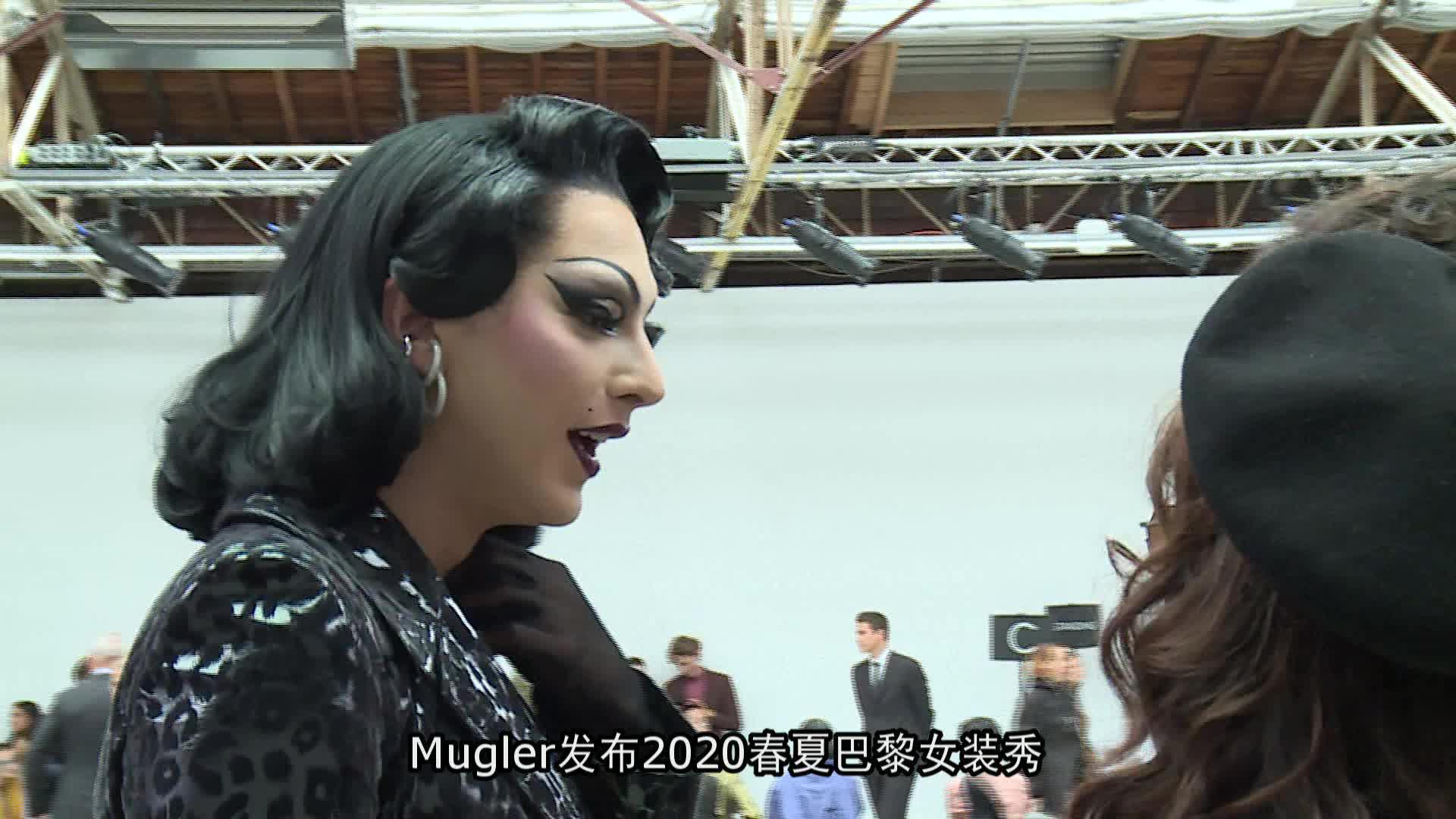Mugler2020春夏巴黎女装秀
