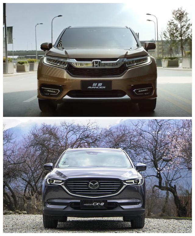 家用SUV广本冠道对比长安马自达CX8,七座五座该怎么选?