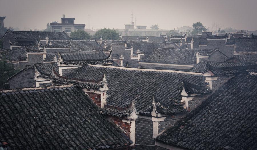江西高安贾家古村,典型江右古村赣派建筑,现实中的荣国府