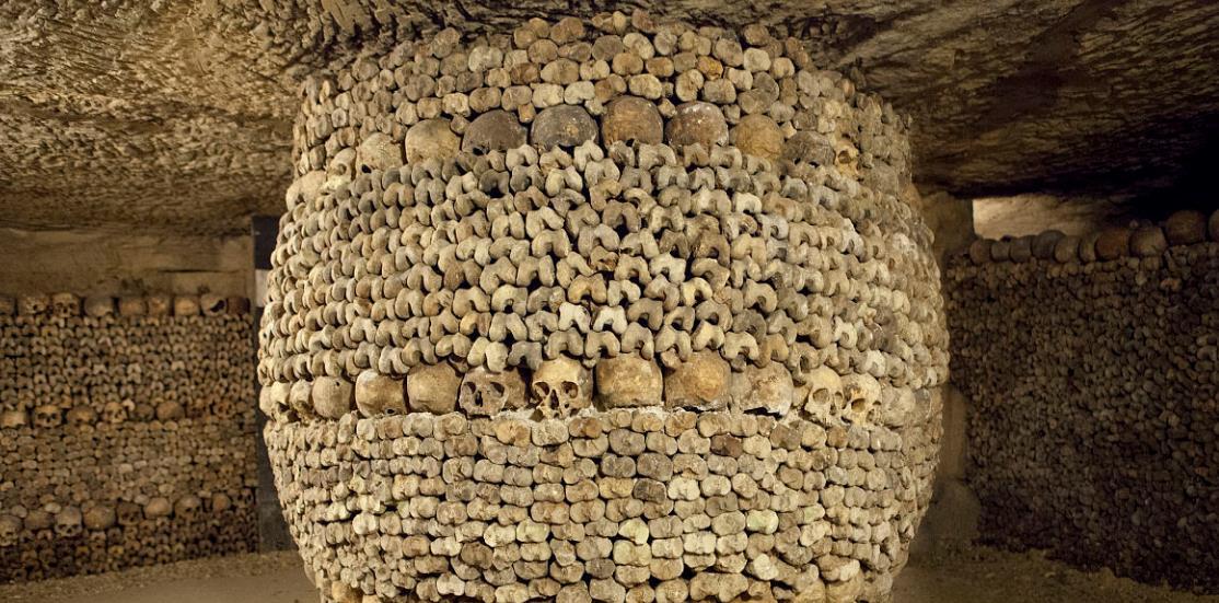世界最恐怖的墓穴, 600万尸骸遍布, 墙都是骸骨砌成的
