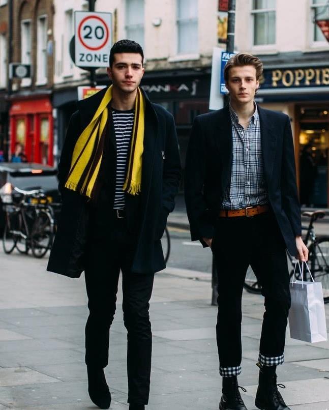 看不懂伦敦时装周的时装秀 场外街拍可以学习的门道儿有很多!