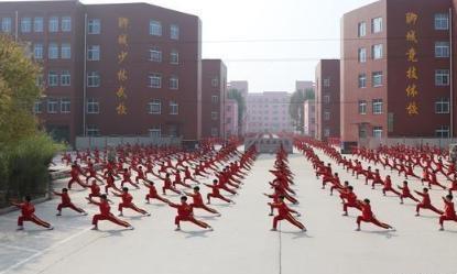聊城少林武校、江北体校、全文中学优秀教师、教练员招聘简章