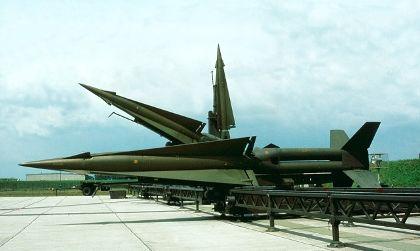 德国不同类型防空导弹