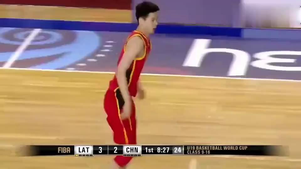 回顾:中国男篮惜败!郭昊文表现依然亮眼,砍下25+9+12准三双!