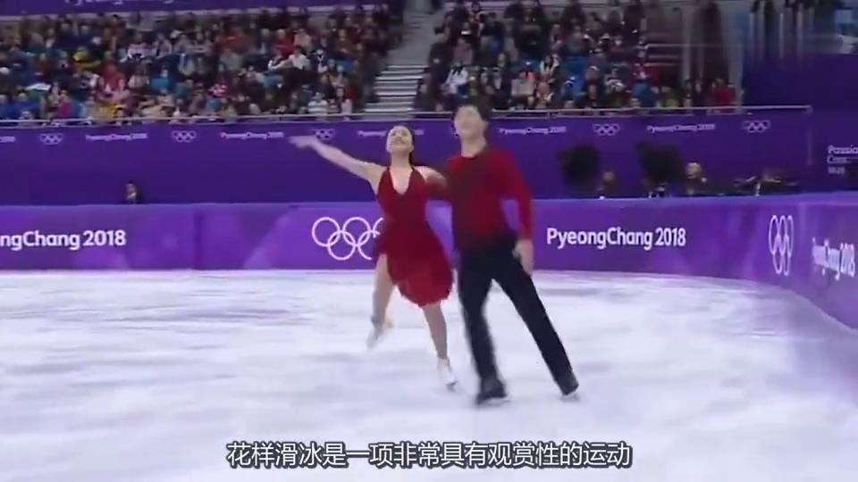 花样滑冰比赛女选手上衣突然裂开,男伴的处理方法,让人称赞