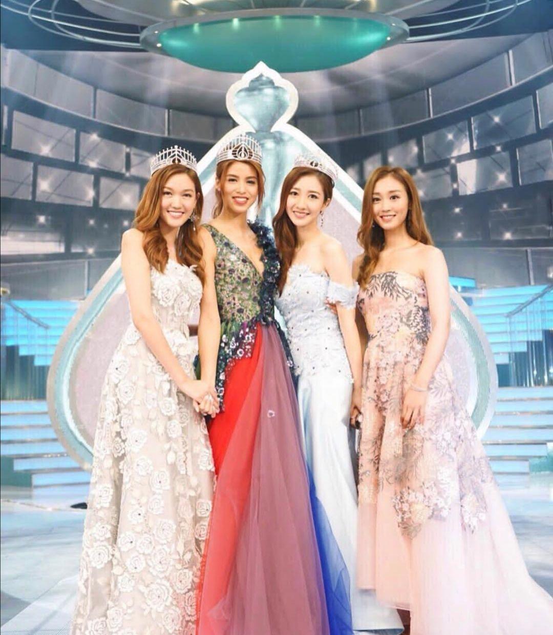 亚军比冠军好看系列:TVB2017香港小姐赛果