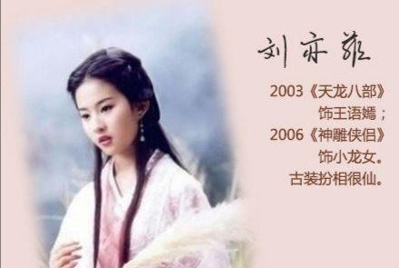 金庸小说女神,小龙女王语嫣黄蓉赵敏周芷若,你最喜欢哪个角色?