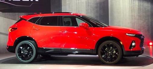 雪佛兰Blazer,预计明年在泰国推出新车型