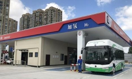 中德继续推进氢燃料汽车领域合作,液空厚普在浙江建立首个加氢站