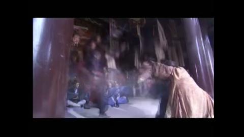 神雕侠侣:郭靖杀入重阳宫,遇见师傅向师傅行礼
