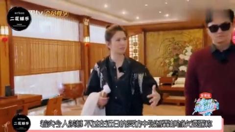 张智霖称片酬全被袁咏仪拿走私下经常吵架根本不是模范夫妻