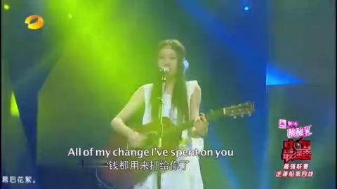 郑钧师妹刘瑞琪登台,演唱《payphone》,Eason嗨到停不下来!