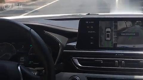 视频:长安CS75自动泊车演示!