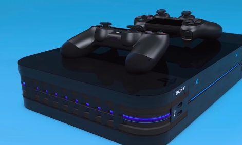 零售商为PS5设计概念图 无凹槽、手柄可无线充电