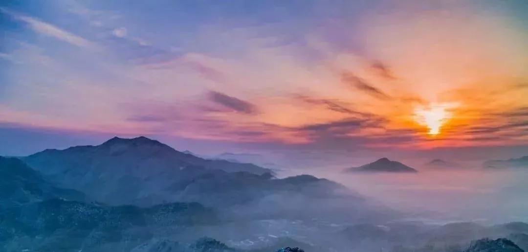 藏不住了!大别山里的绝美雪国,就在安徽霍山