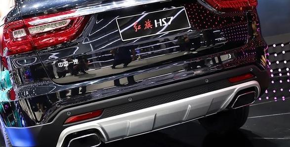2018广州车展:红旗HS7,与生俱来的气场,让人沉醉
