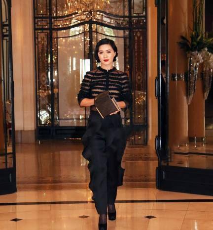 41岁田海蓉出席活动,美的不可方物的她,成了全场最关注的焦点!