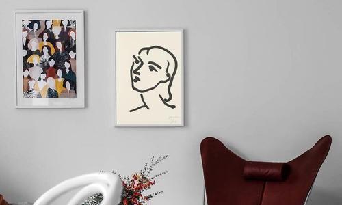 根据装修风格搭配合适的装饰画,你也可以拥有个性家居空间