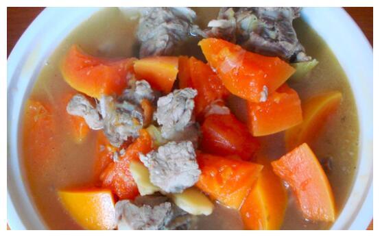 怎么用木瓜炖排骨?巧用电压锅,做出美味营养汤