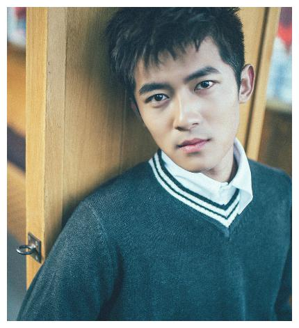 中国内地90后影视男演员佟梦实,俊秀明朗的脸部弧线酷似谢霆锋