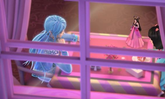 精灵梦叶罗丽:王默水王子约会,路遇两个同学反映亮了,大快人心