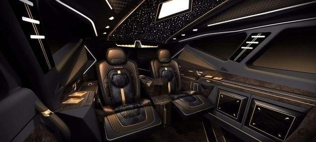 清华大学生设计超大型SUV,全球限量10台,价值1200万国产车?