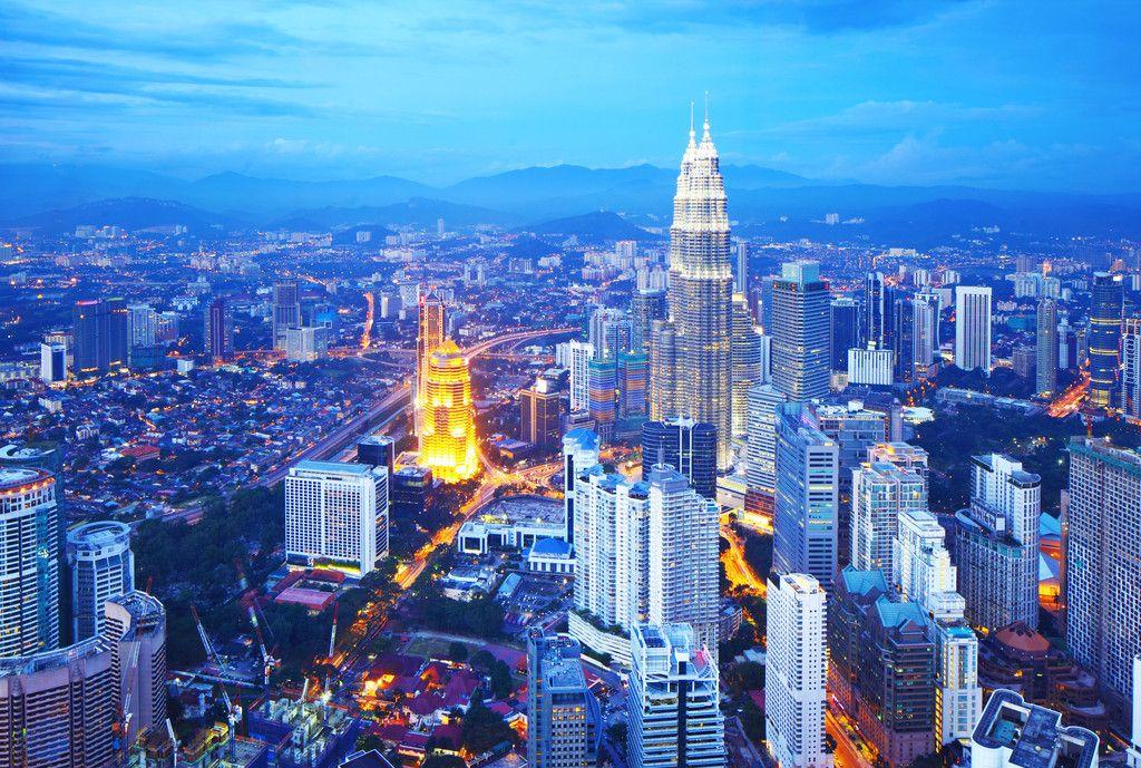马来首府吉隆坡城市风光