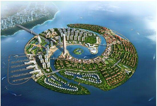 厦门周边居然有个中国圣淘沙,以星座命名中国首个离岸式人工岛