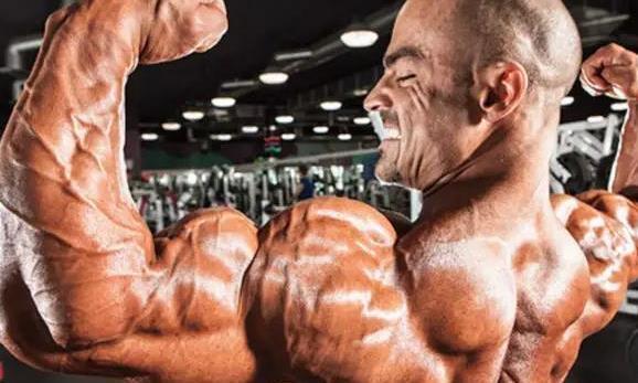 想要肩部强大,就要练好三角肌,让三角肌均衡发展