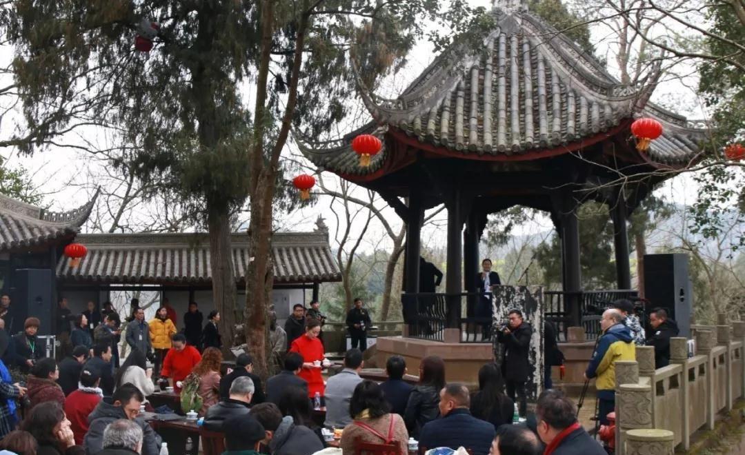 陈子昂读书台:中外诗人齐聚,展现传统文化魅力
