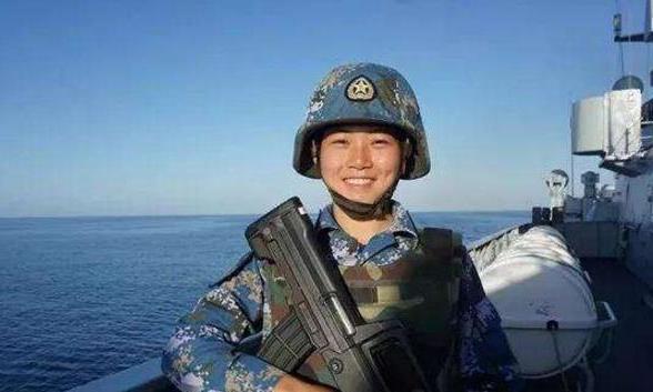 """她是""""最美退役军人"""",海军陆战队员,一号首长曾为她点赞!"""