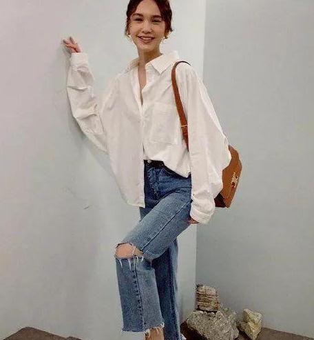 新婚少女杨丞琳一件衬衫只要200块?这种平价时髦你也追的起