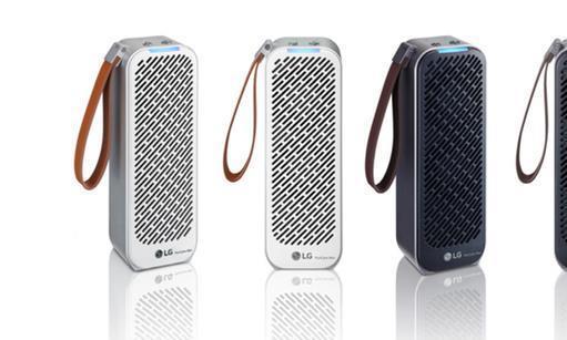 活久见!LG推出一款手持空气净化器,随身携带帝都必备