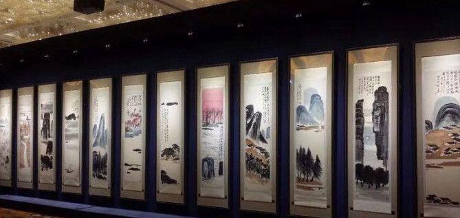 全球最贵的中国艺术品:齐白石《山水十二屏》,以9.3亿成交!