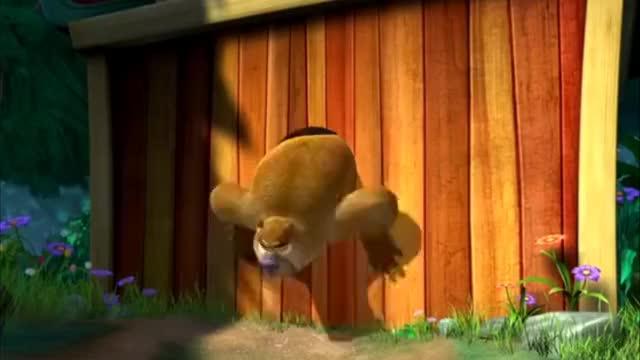 熊出没之夺宝熊兵:熊二把光头强家里的东西吃光了!