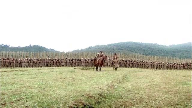 大舜:两方阵前见面,问鼎天下之战,以大鼎为证胜者鼎天!