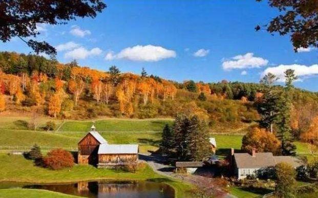 佛蒙特州——美丽的景色、奶制品、枫糖浆和激进的政治!