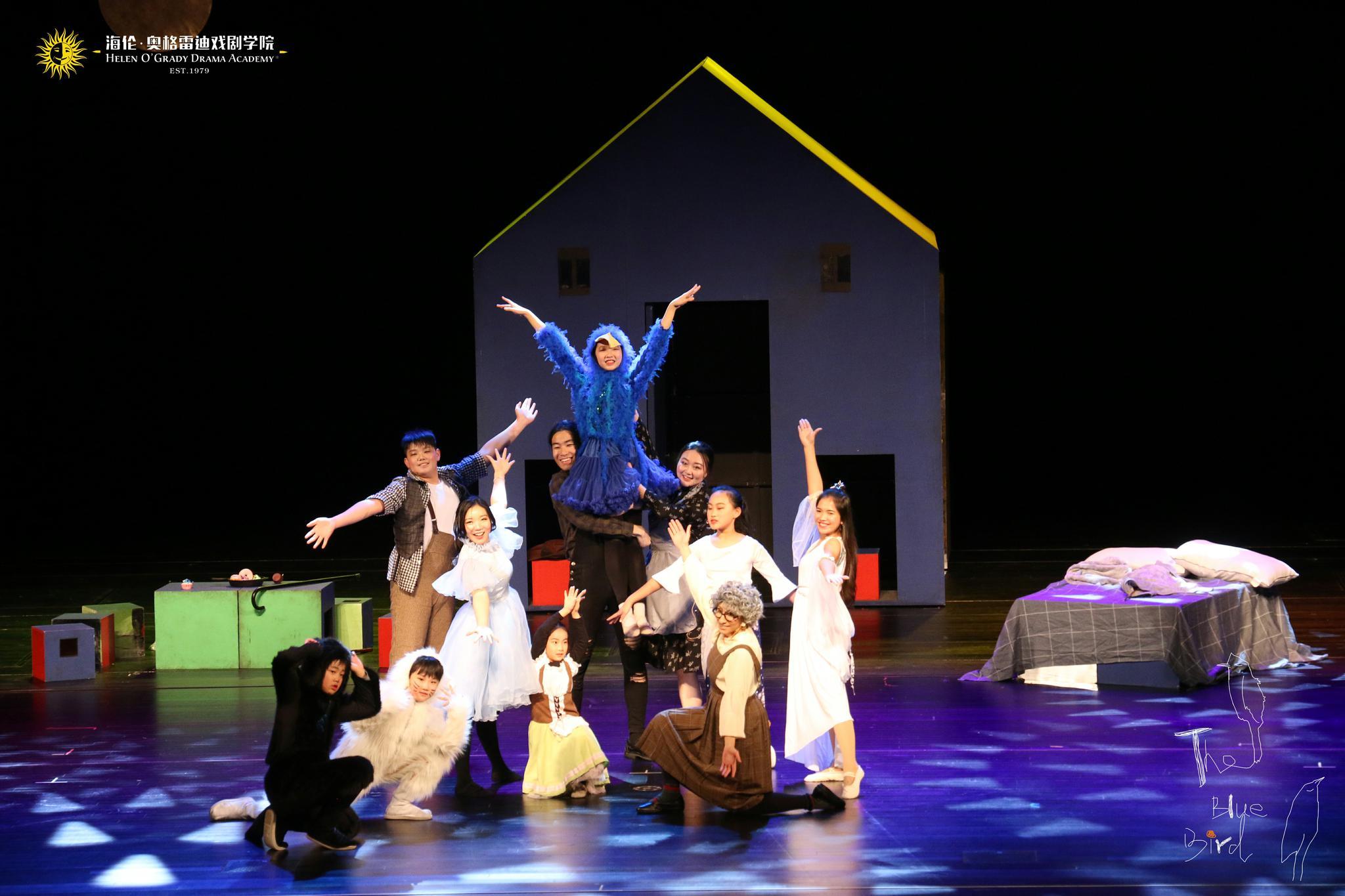 四地艺术家倾力打造 英文儿童音乐剧《青鸟》广东巡演拉开帷幕