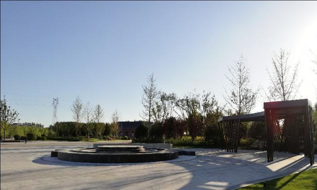 廊坊安次区经济开发区半截河滨河公园,清幽娴雅,又一休闲好去处