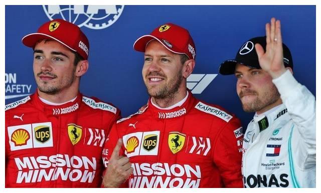 日本大奖赛排位赛:维特尔力压勒克莱尔摘杆位,法拉利包揽头排