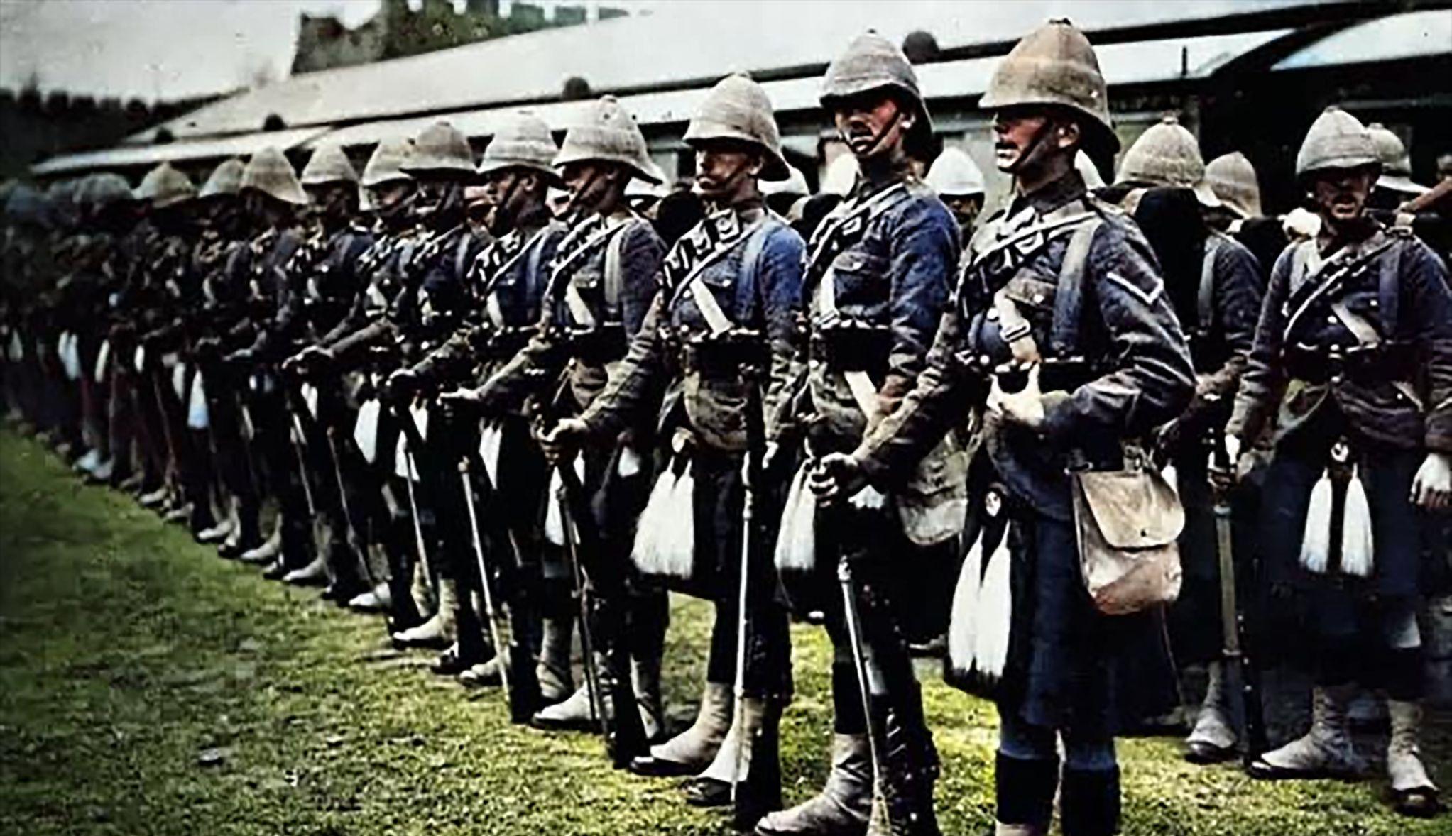 攻占北京的八国联军,里面还有印度士兵