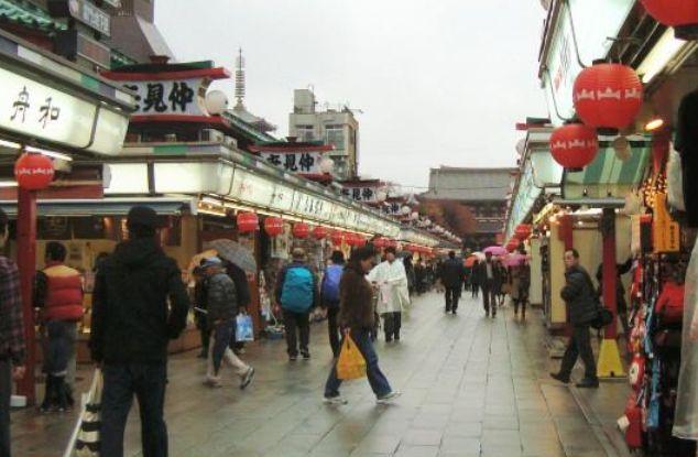 浅草寺,东京都内最古老的寺庙,到这里逛一逛