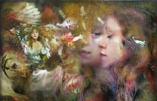 英国画家Iva Troj伊娃·特洛伊,唯美人物油画欣赏