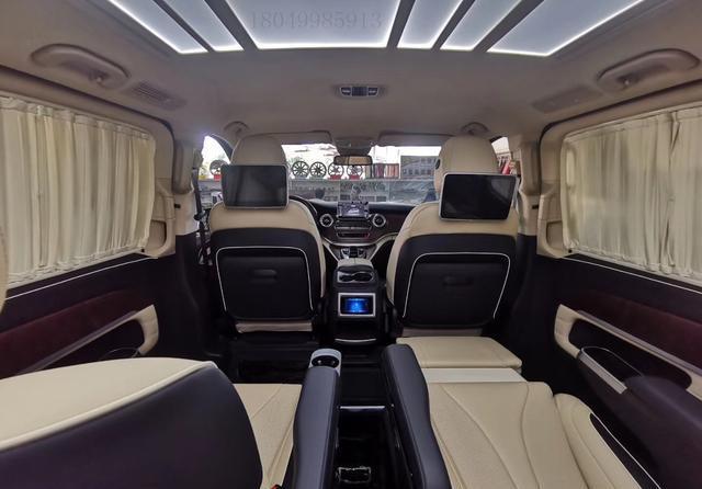 「房车俱乐部」进口奔驰V250豪华改装迈巴赫版