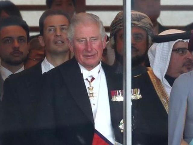 英国查尔斯王子出席日本天皇即位礼