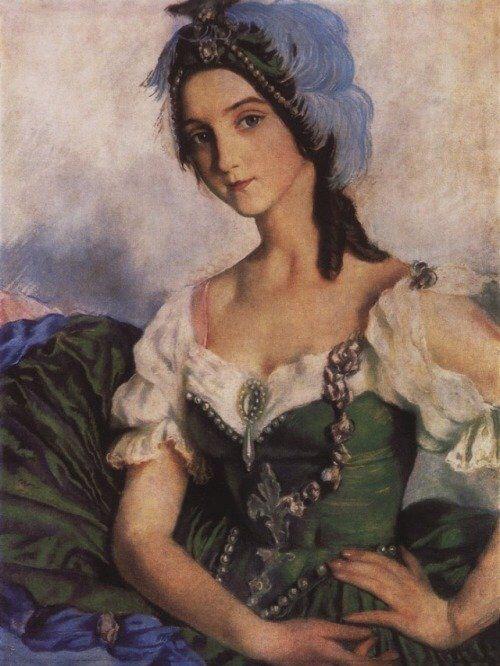 美术欣赏:俄罗斯美女画家凭自画像一举成名 笔下洋溢着青春活力