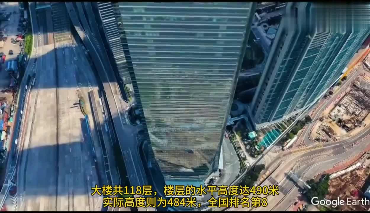 航拍香港第一高楼,全球最高的六星级酒店,坐落于此