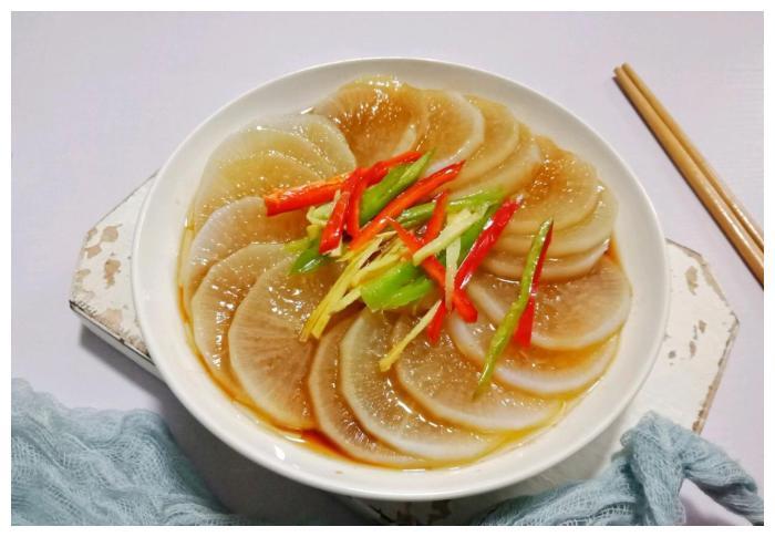 8毛钱一斤的萝卜吃出鲍鱼龙虾的格调就得这么干